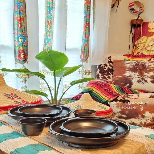 Ethiopian Cultural Serving Bowl