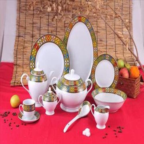 Eritrean Dinnerware Plate Set