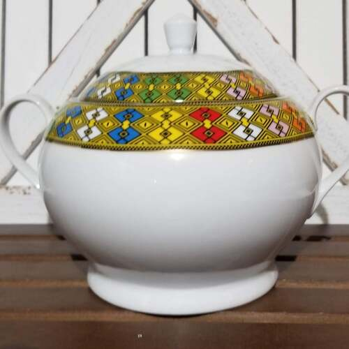 Eritrean Serving Bowl Set with Lids
