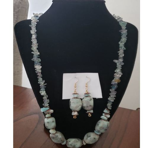 Natural Beads Stone Necklace