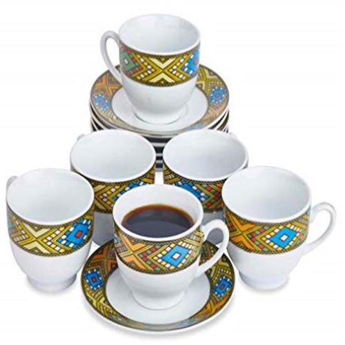 Ethiopian Traditional Coffee Cups