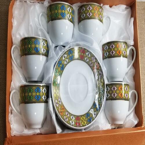 TEBEB Teacups with a gift box