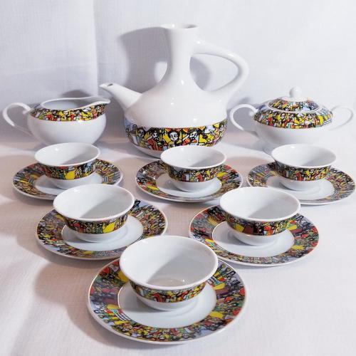 Eritrean Coffee Ceremony Set