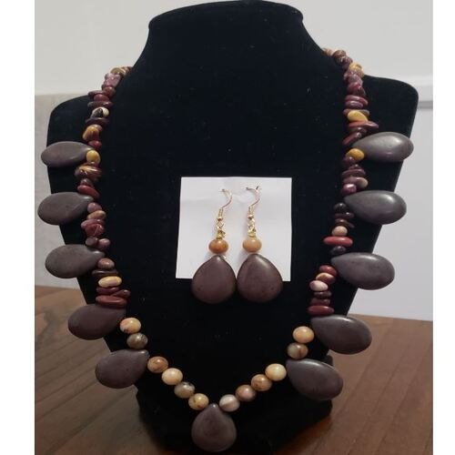 Handmade Beads Stone Necklace