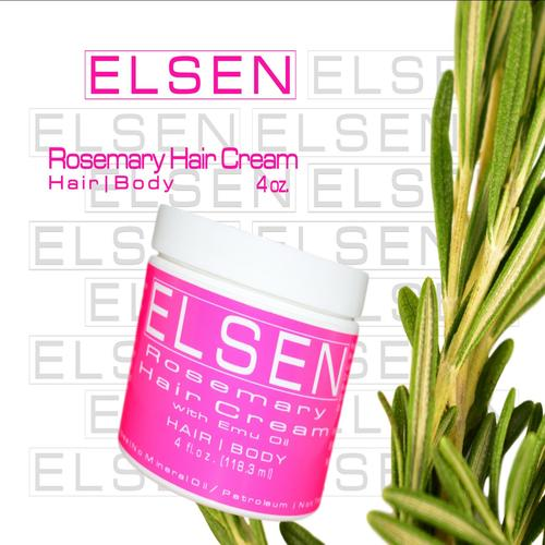 Rosemary Hair Cream Emu Oil