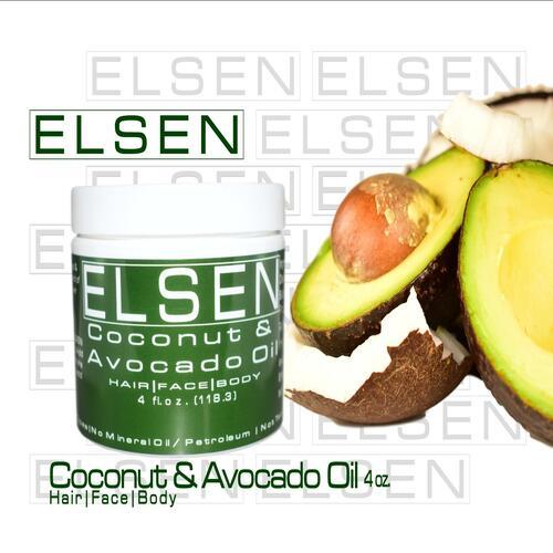 Coconut and Avocado Oil 4oz