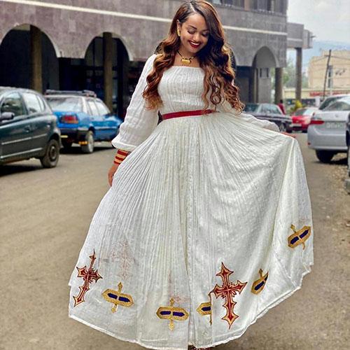 Ethiopian Habesha dress