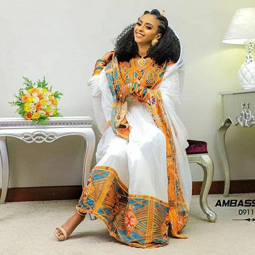 Ethiopian Eritrean Cultural Dress