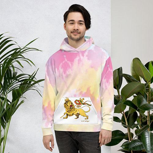 Tie-dye Unisex hoodies