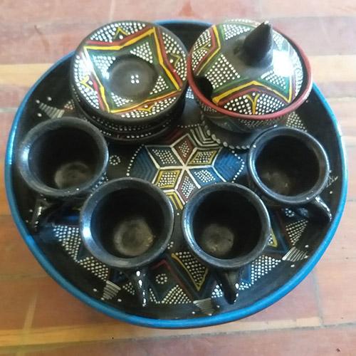 Ethiopian Eritrean Traditional Coffee Ceremony Set