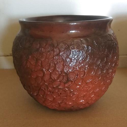 Pottery Flower Vase for Home Decor