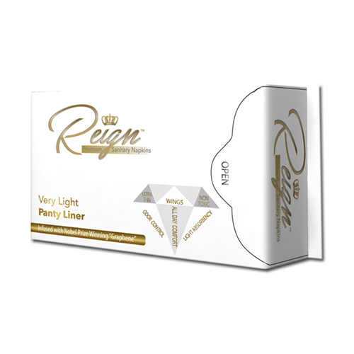 Reign Panty Liners With Wings