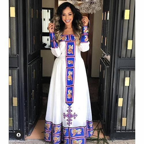 Beautiful Habesha Dress