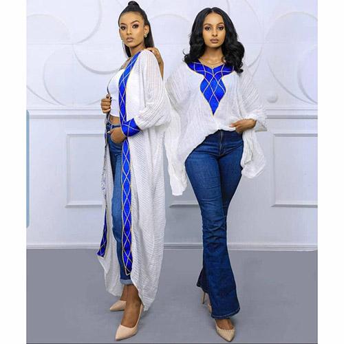 Eritrean Ethiopian Modern Womens clothing