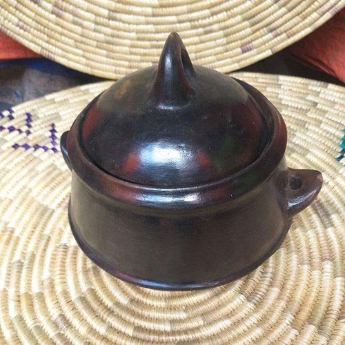 Ethiopian Ceramic Nonstick Cooking Shekla Pot