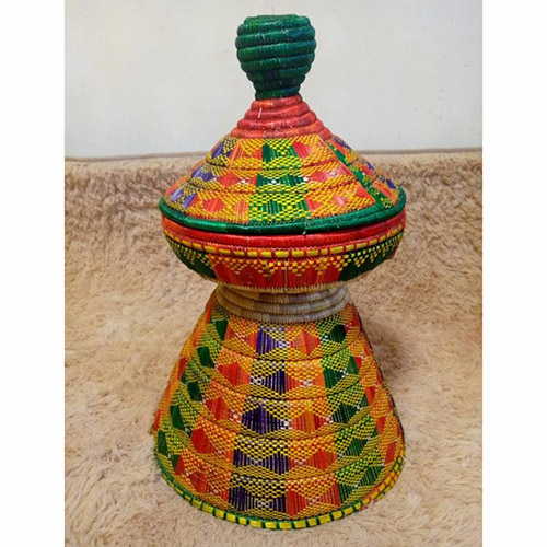 Ethiopian Traditional Mesob Art