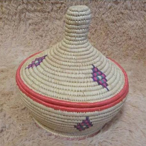 HandMade Made Mesob Basket Ethiopian Eritrean Exquisite Hand Woven Decorative Serving Basket