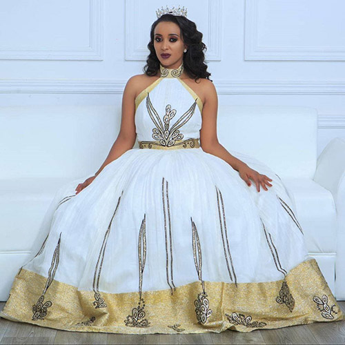 Top Wedding Ethiopian Traditional Dress