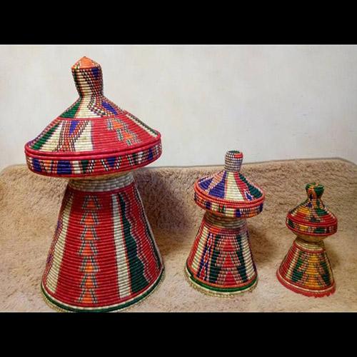 Traditional Injera Mesob Ethiopian Eritrean Household