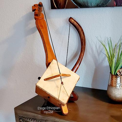 Hand Made Ethiopian string Instrument
