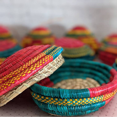 Hand Made Traditional Muday Jewelry Basket