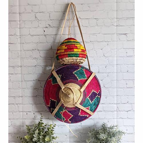 Hand Made Basket sets of 2