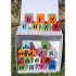 Amharic wooden blocks / በእንጨት ላይ የተሰሩ ፊደሎች