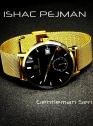 Black Gold Gentleman's 5 ATM ALL Stainless Steel Quartz Watch