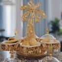 Ethiopian, Eritrean & Italian 6 pcs Desert and fruits Stand. Perfect for Birthdays, Graduation Baby showers. 16′ x 16′ _ 9oz porcelain bowls
