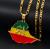 Ethiopia Pendant Chain Necklaces For Women & Men Gold Color