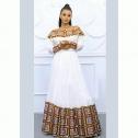 Ethiopian Cultural Dress (culture habesha kemis clothing)