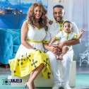 Ethiopian Traditional dress and t-shirt (family size)